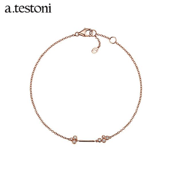 [아.테스토니 / a.testoni] 라 노떼 로즈골드 14K 팔찌 AJFB001GRJ00A La Notte Bracelet