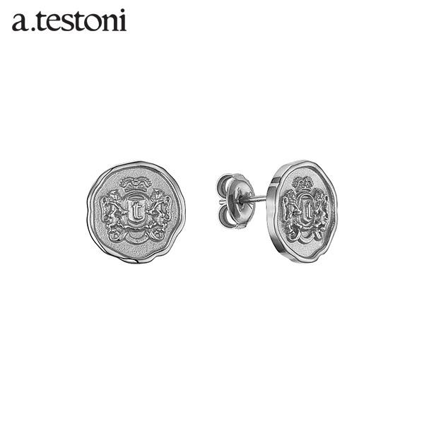 [아.테스토니 / a.testoni] 1929 빈티지 실버 스터드 귀걸이 AJFE008SOJ00A 1929 Vintage Earring