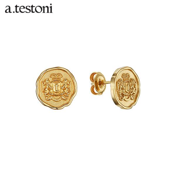 [아.테스토니 / a.testoni] 1929 빈티지 실버 스터드 귀걸이 AJFE008SYJ00A 1929 Vintage Earring