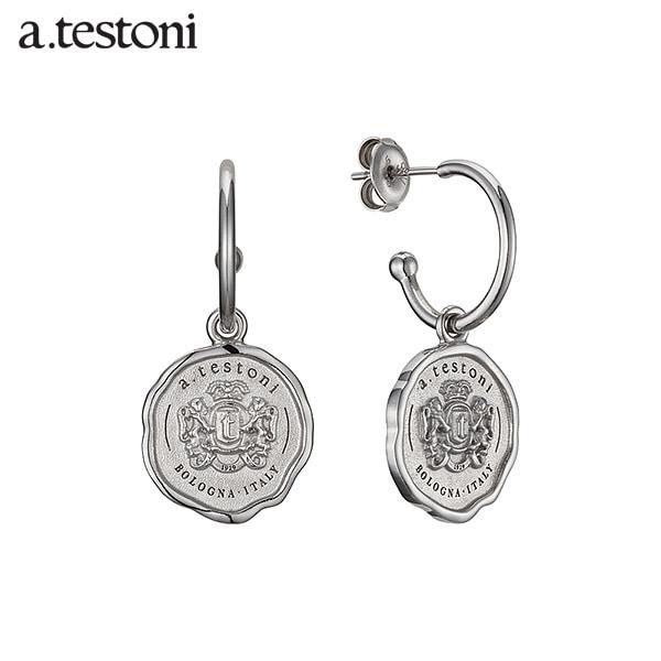 [아.테스토니 / a.testoni] 1929 빈티지 실버 후프 귀걸이 AJFE009SOJ00A 1929 Vintage Earring