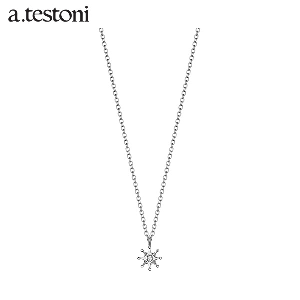 [아.테스토니 / a.testoni] 라 루나 화이트골드 14K 목걸이 AJFN003GWJ00A La Luna Necklace