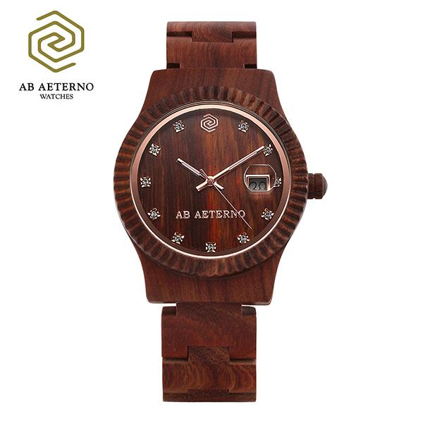 5월-) [에테르노시계 AETERNO] AURORA / 오로라 여성시계 (이태리 나무 시계)