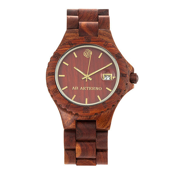 [에테르노시계 AETERNO] ROCKY / 록키 남성시계 (이태리 나무 시계)