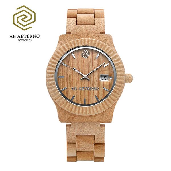 5월-) [에테르노시계 AETERNO] SUNRISE / 선라이즈 남녀공용시계 (이태리 나무 시계)