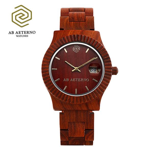 5월-) [에테르노시계 AETERNO] SUNSET / 선셋 남녀공용시계 (이태리 나무 시계)