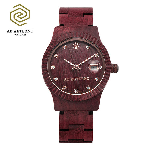 [에테르노시계 AETERNO] TRAMONTO / 트라몬트 여성시계 (이태리 나무 시계)