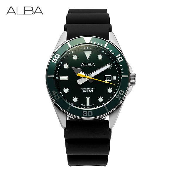 [알바시계 ALBA시계] AG8K23X1 / 다이버 Diver 남성용 우레탄시계 40mm