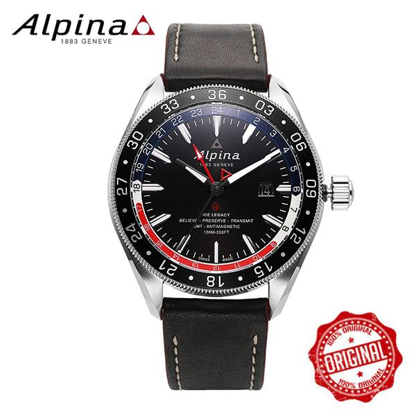 [알피나 ALPINA] AL-550GRN5AQ6 Alpiner 4 GMT Business Hours 45mm