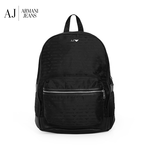 [아르마니진 ARMANI JEANS] 932523 CC993 00020 / MAN BACK PACK BLACK 백팩 타임메카