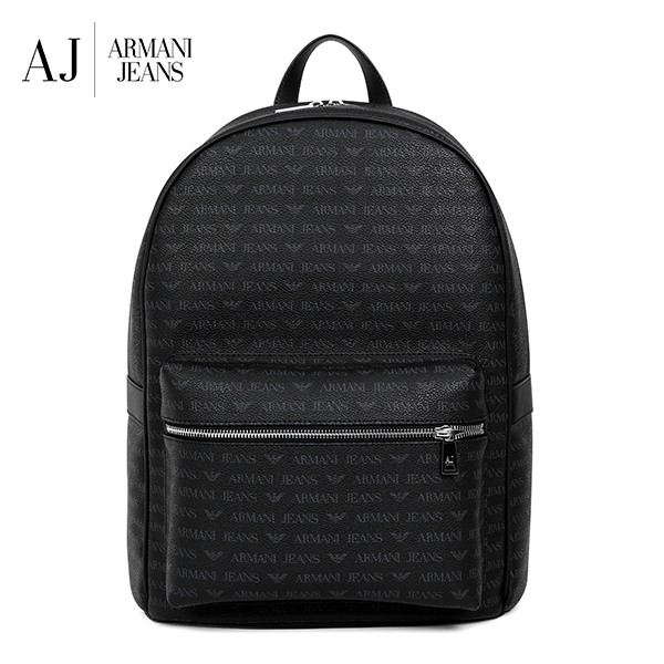 [아르마니진 ARMANI JEANS] 932523 CD996 00020 / MAN BACK PACK BLACK 백팩 타임메카