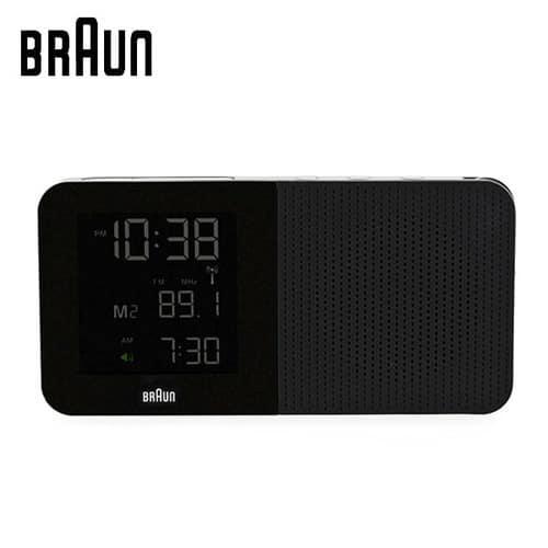 [브라운BRAUN] BNC010BK 디지털 알람시계 [한국본사정품]