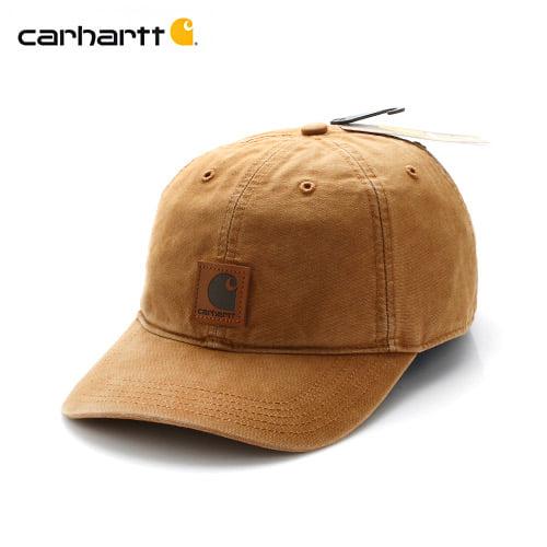 [칼하트 CARHARTT] 100289 칼하트브라운 볼캡 캠프캡