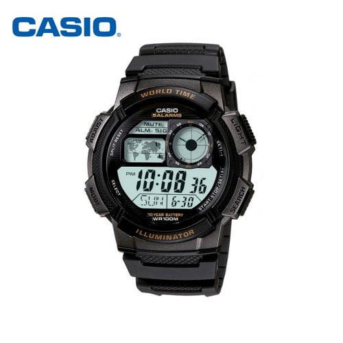 [카시오시계 CASIO] AE-1000W-1AVSDF (AE-1000W-1A) 디지털,군인시계,스포츠시계