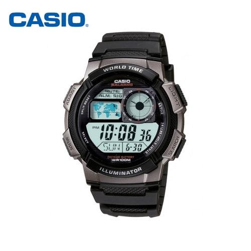 [카시오시계 CASIO] AE-1000W-1BVSDF (AE-1000W-1B) 디지털,군인시계,스포츠시계 48mm