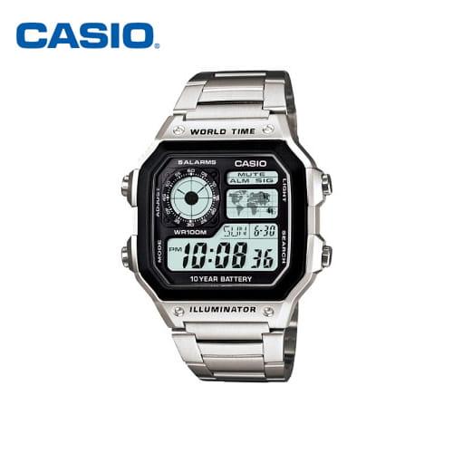 [카시오시계 CASIO] AE-1200WHD-1AVDF (AE-1200WHD-1A) 아나디지라인,군인시계,스포츠시계