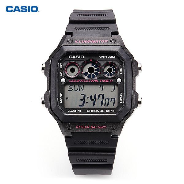 [카시오시계 CASIO] AE-1300WH-1A2VDF (AE-1300WH-1A2) 군인시계,스포츠시계 38mm