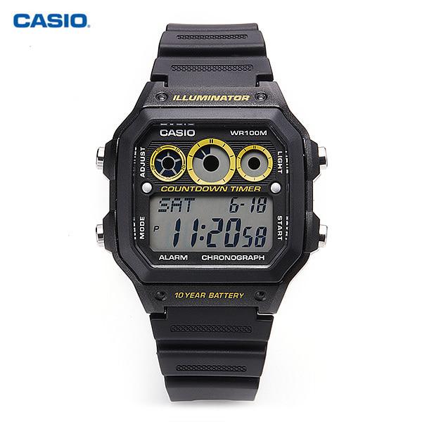 [카시오시계 CASIO] AE-1300WH-1AVDF (AE-1300WH-1A) 군인시계,스포츠시계 38mm
