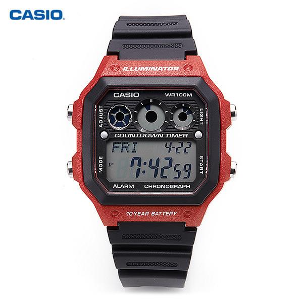 [카시오시계 CASIO] AE-1300WH-4AVDF (AE-1300WH-4A) 군인시계,스포츠시계 38mm