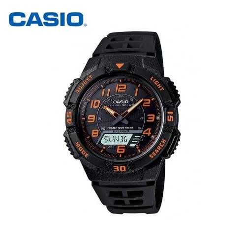 [카시오시계 CASIO] AQ-S800W-1B2 / AQ-S800W-1B2VDF 아나디지라인,듀얼타임시계 47.6x42mm