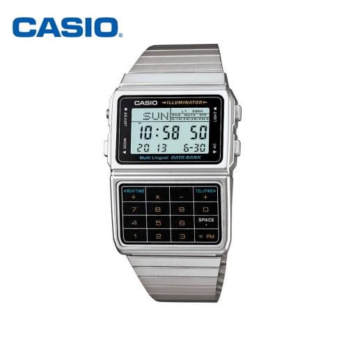 [카시오시계 CASIO] DBC-611-1DF (DBC-611-1D) 디지털 데이터뱅크 55x32mm