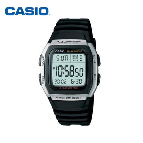 [카시오시계 CASIO] W-96H-1AVDF (W-96H-1A) 디지털 학생/군인/스포츠시계 44x36mm