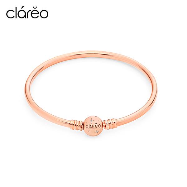 [클라레오 쥬얼리 CLAREO] CLB2904 / Clasp Bracelet 로즈골드 타임메카