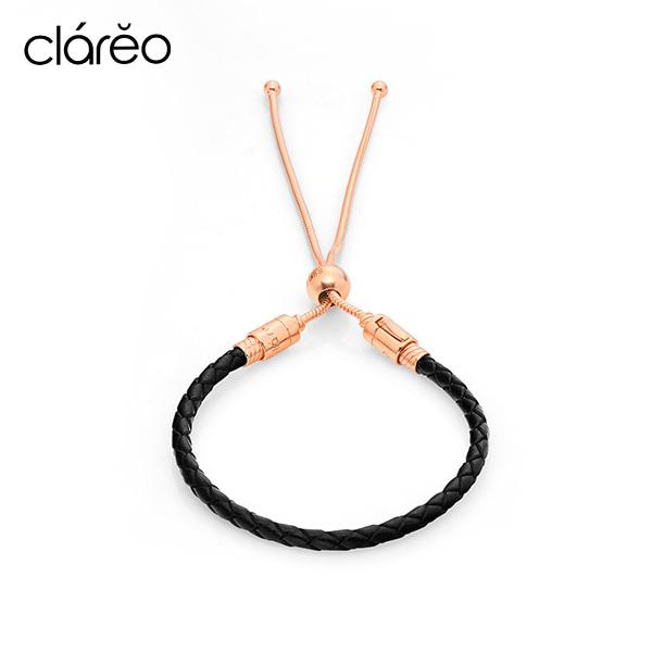 [클라레오 쥬얼리 CLAREO] CLB2905 / Sliding Bracelet 로즈골드 타임메카