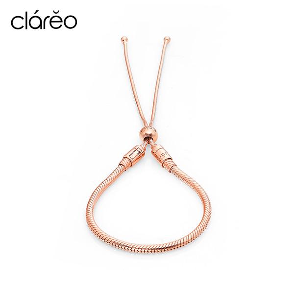 [클라레오 쥬얼리 CLAREO] CLB2906 / Sliding Bracelet 로즈골드 타임메카