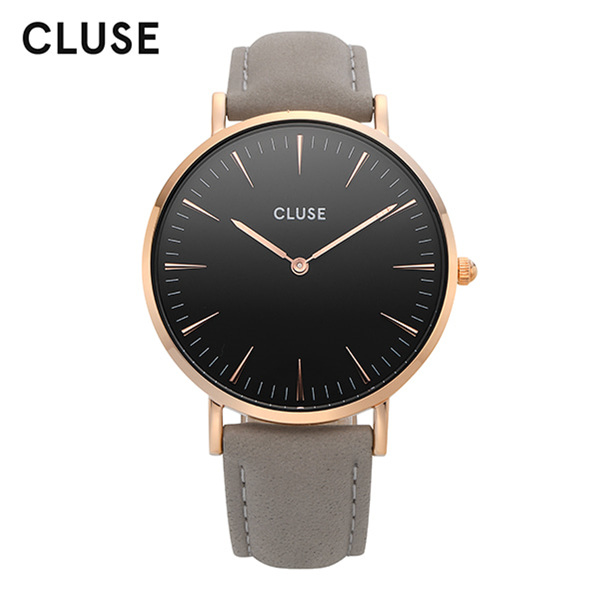 [클루즈시계 CLUSE] CL18018 / 라보엠 La Boheme Rose Gold Black Grey 38mm