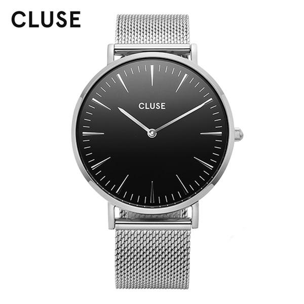 [클루즈시계 CLUSE] CL18106 / 라보엠 La Boheme Mesh Silver Black 38mm