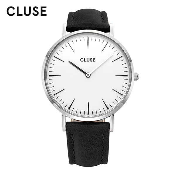 [클루즈시계 CLUSE] CL18208 / 라보엠 La Boheme Silver White Black 38mm