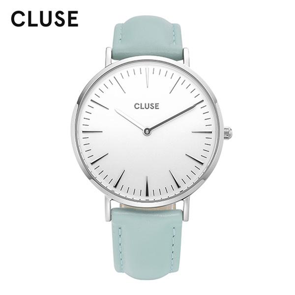 [클루즈시계 CLUSE] CL18225 / 라보엠 La Boheme Silver White Pastel Mint 38mm