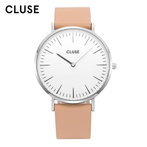 [클루즈시계 CLUSE] CL18231 / 라보엠 La Boheme Silver White Nude 38mm