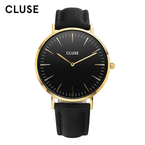 [클루즈시계 CLUSE] CL18401 / 라보엠 La Boheme Gold Black Black 38mm