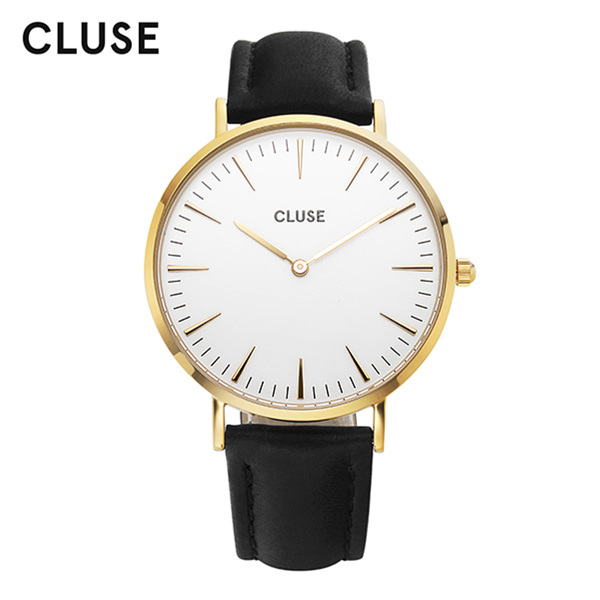 [클루즈시계 CLUSE] CL18406 / 라보엠 La Boheme Gold White Black 38mm
