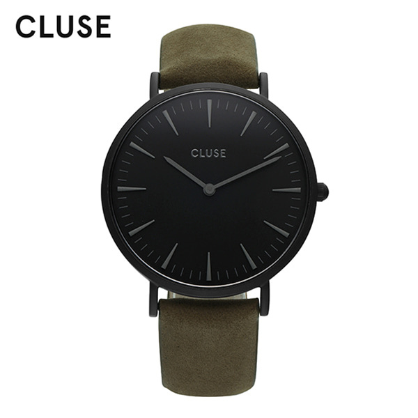 [클루즈시계 CLUSE] CL18502 / 라보엠 La Boheme Full Black Olive Green 38mm