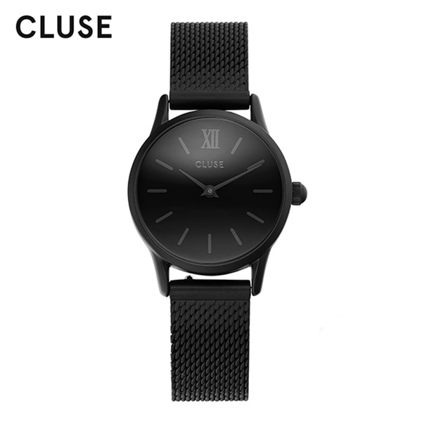 얼마줬스-) [클루즈시계 CLUSE] CL50004 / 라베뎃 La Vedette Mesh Full Black 24mm