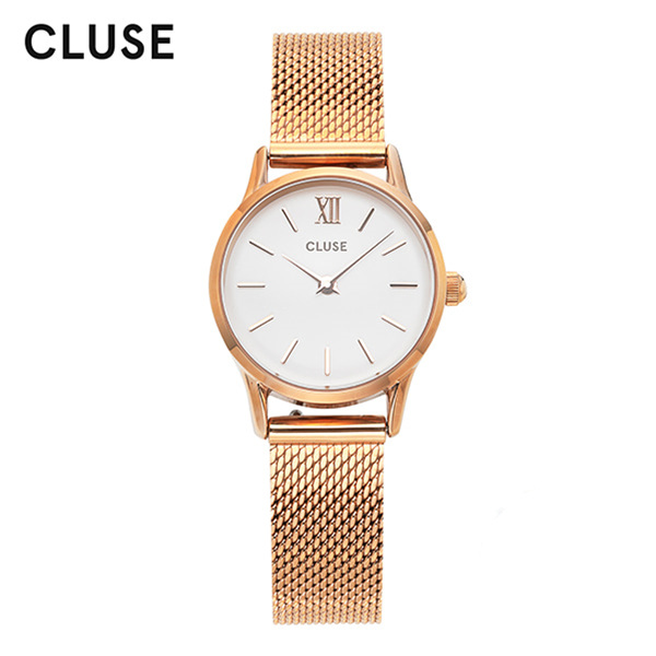 [클루즈시계 CLUSE] CL50006 / 라베뎃 La Vedette Mesh Rose Gold White 24mm