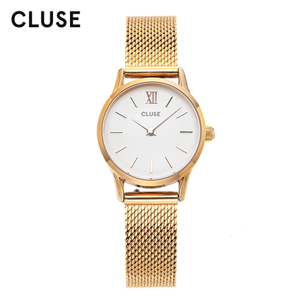 [클루즈시계 CLUSE] CL50007 / 라베뎃 La Vedette Mesh Gold White 24mm