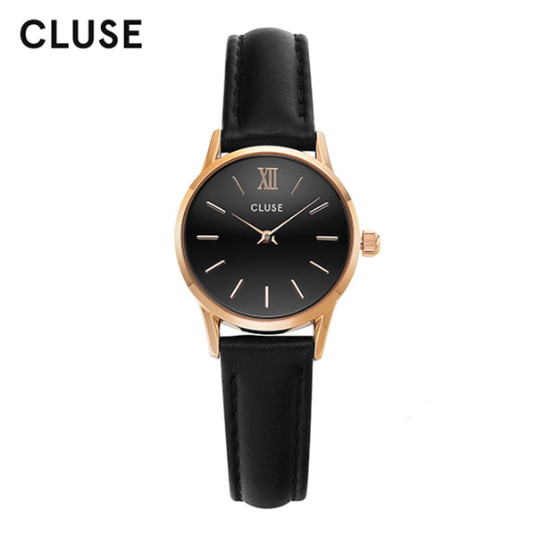 [클루즈시계 CLUSE] CL50011 / 라베뎃 La Vedette Rose Gold Black Black 24mm