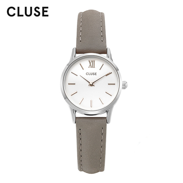 얼마줬스-) [클루즈시계 CLUSE] CL50013 / 라베뎃 La Vedette Silver White Grey 24mm