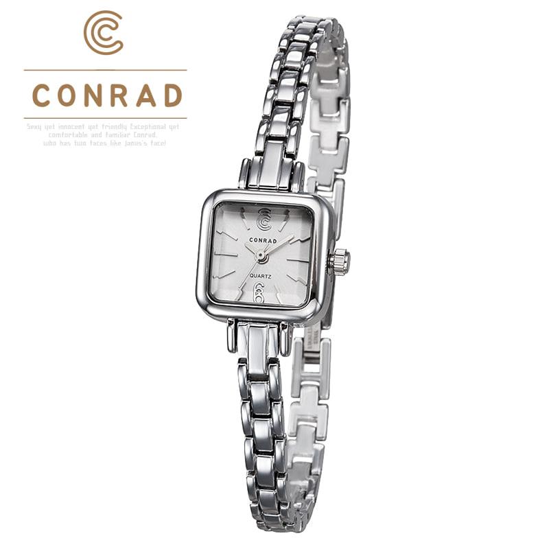 [콘라드시계 CONRAD] CD006WM-WTWT 여성용 메탈밴드 19mm [한국본사정품] 에이핑크 박초롱 시계