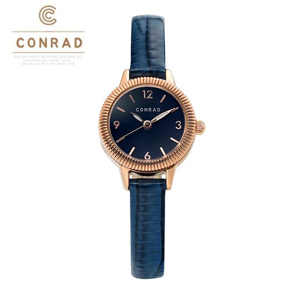 [콘라드시계 CONRAD] CD008WL-RGBU 여성용 가죽밴드 22mm