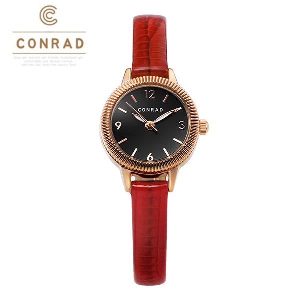 [콘라드시계 CONRAD] CD008WL-RGRD 여성용 가죽밴드 22mm