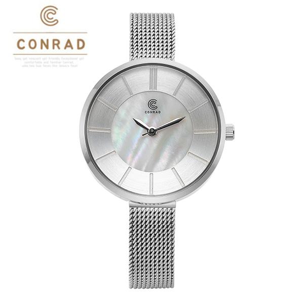 [콘라드시계 CONRAD] CD009WM-WTWT 여성용 매쉬밴드 30mm