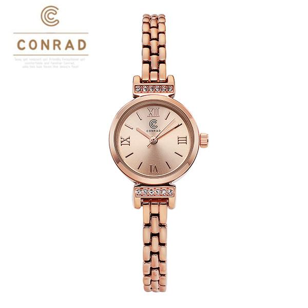 [콘라드시계 CONRAD] CD011WM-RGRG 여성용 메탈시계 21mm
