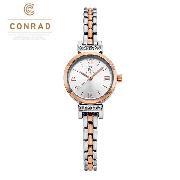 [콘라드시계 CONRAD] CD011WM-RGWT 여성용 메탈시계 21mm