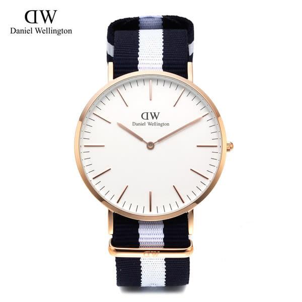 5월-) [다니엘 웰링턴시계 DANIEL WELLINGTON] 0104DW / 온유 착용모델 40mm 클래식 글래시고 CLASSIC GLASGOW ROSE GOLD