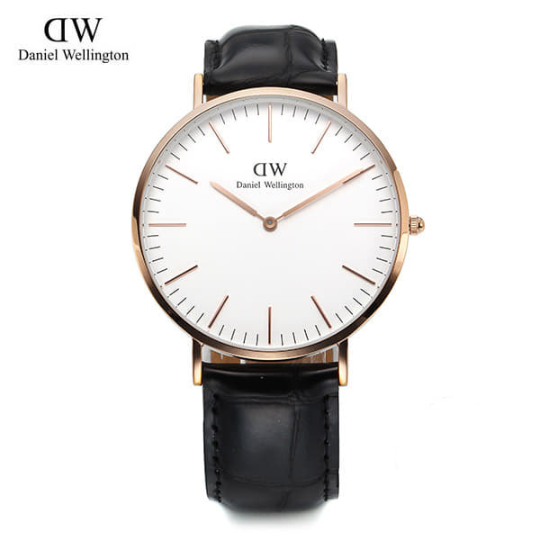 8월-) [다니엘 웰링턴시계 DANIEL WELLINGTON] 0114DW / 40mm Classic Reading White Dial