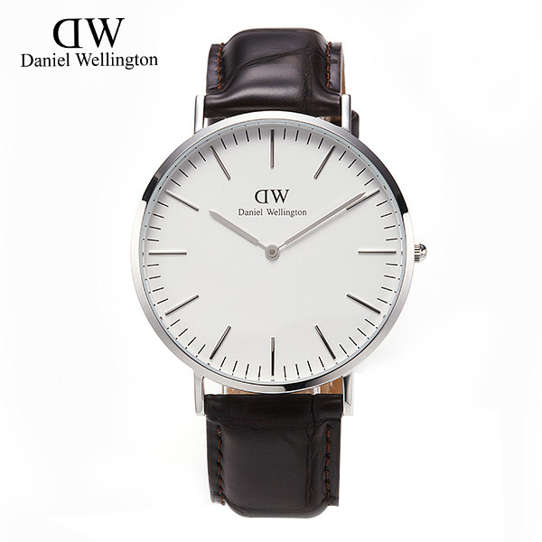 [다니엘 웰링턴시계 DANIEL WELLINGTON] 0211DW / 40mm CLASSIC YORK SILVER